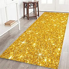 VINISATH Long Floor Mat Bar sparkling golden glow