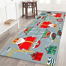 VINISATH Long Floor Mat Christmas in Holland