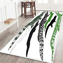 VINISATH Long Floor Mat Collection silhouette of