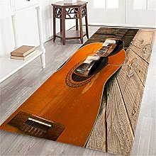 VINISATH Long Floor Mat guitar and Wine on a