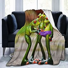 VINISATH Luxury Throw Blanket,Funny Animal Cartoon
