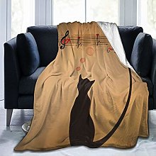VINISATH Luxury Throw Blanket,Funny Animal Cute