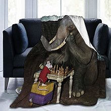 VINISATH Luxury Throw Blanket,Funny Animal