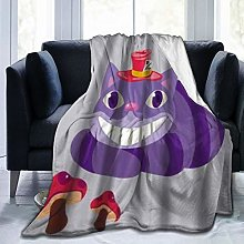 VINISATH Luxury Throw Blanket,Funny Cartoon Animal