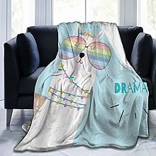 VINISATH Luxury Throw Blanket,Hand Drawn Cute