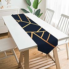 VinMea Decorative Table Runner Placemat Copper And