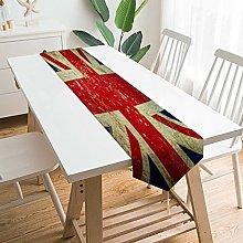 VinMea Decorative Table Runner Placemat Grunge