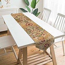 VinMea Decorative Table Runner Placemat Tabriz