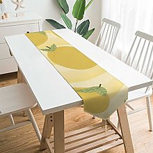 VinMea Decorative Table Runner Placemat Yellow