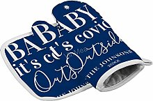 VinMea Oven Gloves And Pot Holders Set Funny Baby