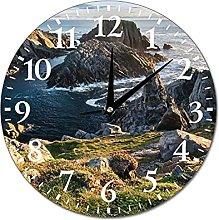 VinMea Wall Clock County Donegal, Ireland Hanging