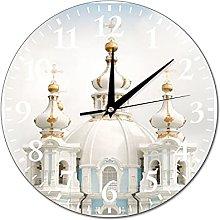 VinMea Wall Clock Photo Painting For Interior,