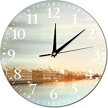 VinMea Wall Clock Photo Painting For Living Room