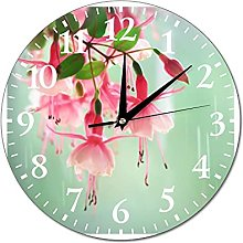 VinMea Wall Clock Photo Painting With The Colors