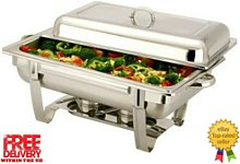 Vinod Single Compartment 8.5 L Chafing Buffet Dish