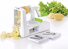 Vinsani 3-Blade Spiral Vegetable Spiralizer Cutter