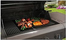 Vinsani 4PC Non-Stick BBQ Rectangle Grill Liner