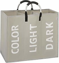 Vinsani Colour Light Dark 3 Sections Laundry