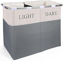 Vinsani Lights and Darks Folding Laundry Sorter