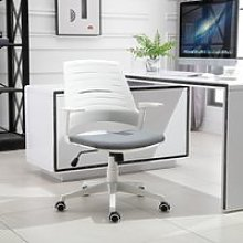 Vinsetto Ergonomic Desk Chair PU Plastic