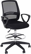 Vinsetto Ergonomic Mesh Back Drafting Chair Tall
