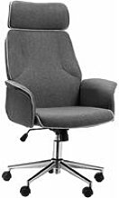 Vinsetto High Back Office Chair w/ Wheels Linen