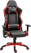 Vinsetto Holographic Stripe Gaming Chair PU