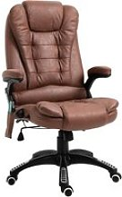 Vinsetto Massage Office Chair 135° Recliner
