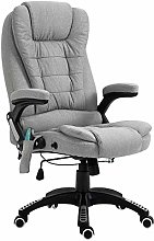 Vinsetto Massage Office Chair Recliner Ergonomic