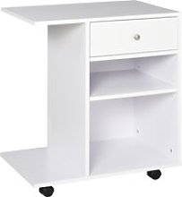 Vinsetto Mobile Printer Stand Rolling Cart Desk