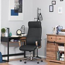 Vinsetto Office Chair Faux Leather High-Back