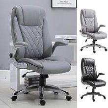 Vinsetto Office Chair Rocking 360° Smooth