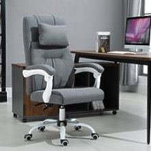 Vinsetto PU Leather Ergonomic Reclining Executive