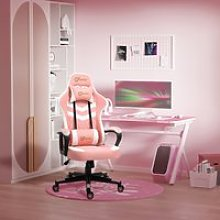 Vinsetto Racing Gaming Chair with Lumbar Support,