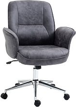 Vinsetto Swivel Computer Office Chair Mid Back