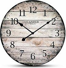 Vintage 30.5cm Silent Wall Clock Cander Berlin