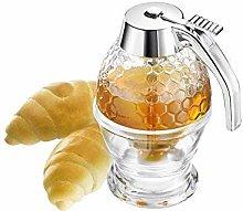 Vintage Acrylic Bee Hive Syrup Honey Dispenser, No