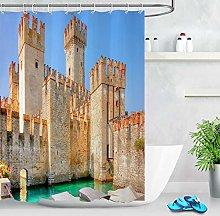 Vintage ancient water castle High-definition