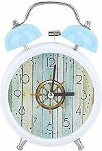 Vintage Bell Double Bell Metal Alarm Clock