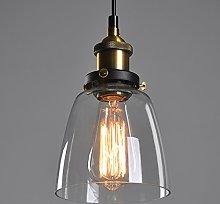 Vintage Ceiling Light / Retro Pendant Light, Old