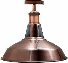 Vintage Ceiling Pendant Light Fitting, Flush Mount