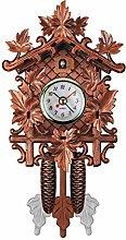 Vintage Cuckoo Clock Wooden Cuckoo Patterned Wall