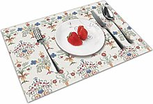 Vintage Daisy Insulation Heat Resistant Table Mats