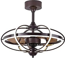 Vintage Fan Ceiling Light with Remote Control