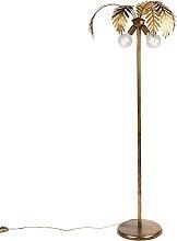 Vintage Floor Lamp 2 Gold - Botanica