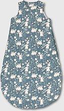Vintage Floral Bunny Print 2.5 Tog Sleeping Bag -