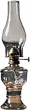 Vintage Glass Kerosene Lamp, Oil Lamps for Indoor