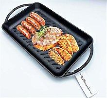 Vintage Gourmet ® Pre-Seasoned Cast Iron Grill