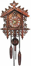 Vintage Handcrafted Cuckoo Clock Tree House Swing