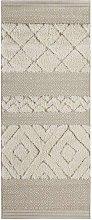 Vintage Handira Carpet Todra Beige Cream Runner 80
